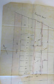 Fig. 1 Foster & Miller's proposal for subdivision