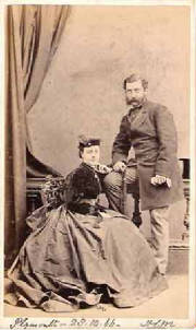 Hugh Ley Millett & Julia Maria Woodthorp Childs